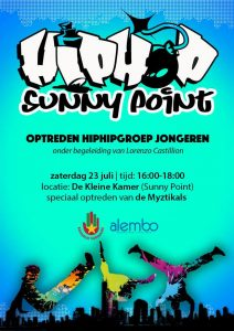 poster uitvoering hiphop